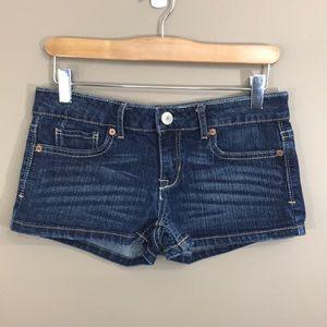 AEROPASTALE Denim Short Shorts Size …
